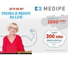 opieka Niemcy Kleve / 1400 Euro + 300 Euro premii za wyjazd w wakacje